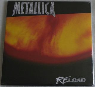 Metallica Reload 2 Lp Selado Made In Europe Re-load