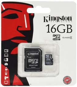 Cartão 16gb Micro Sd Kingston Original Lacrado - 10 Unidades
