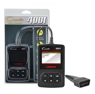 Scanner Diagnostic Automotriz Multimarca Launch Creader 4001
