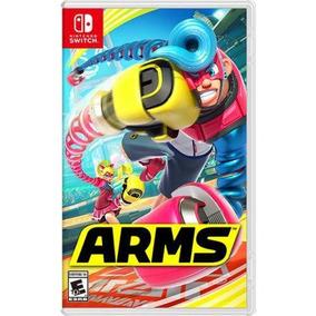 Jogo Arms Nintendo Switch Novo Lacrado Mídia Física
