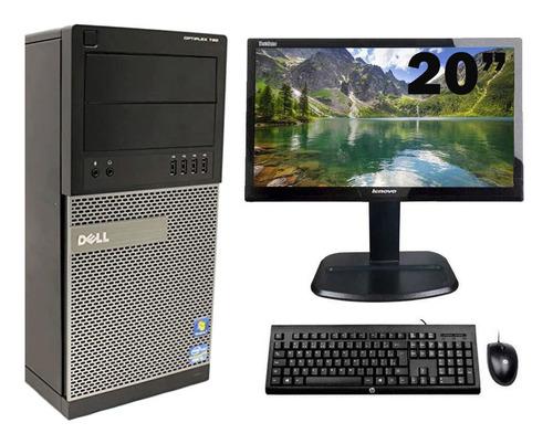 Imagem 1 de 7 de Cpu Dell Optiplex 790 / 990 I5 2º G 8gb 320gb + Monitor