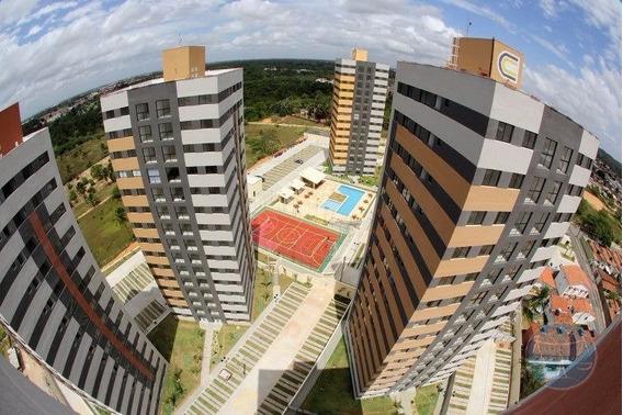 (7335) Apartamento Em Cidade Satelite, 2/4 - V-7335
