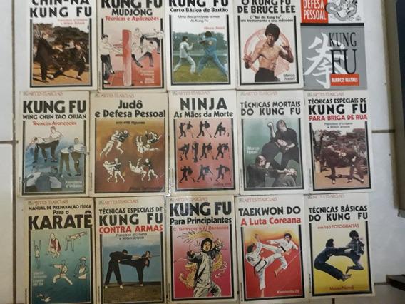 Coleção 15 Livros Artes Marciais
