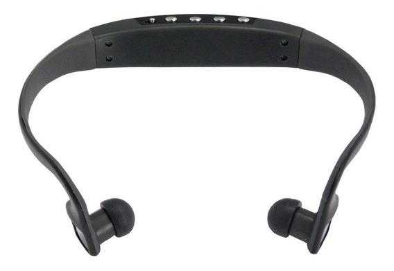 Fone De Ouvido Esportivo C2 - Mp3 - Microsd - Recarregável