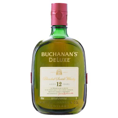 Uísque Blended Buchanan's Deluxe 12 Reino Unido garrafa 1 L