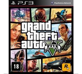 Gta 5 Grand Theft Auto V Ps3 Psn Português