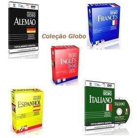 Curso Idiomas Globo Francês Espanhol Italiano Alemão