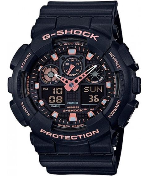 Relógio Casio Masculino Preto G-shock Ga-100gbx-1a4dr