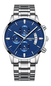 Relógios Luxuosos E De Ótima Qualidade Nibosi