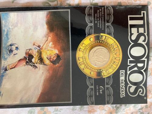 Imagen 1 de 3 de Tesoros Del Mundial México '86, $500.00 Oro Puro Ley 0.900