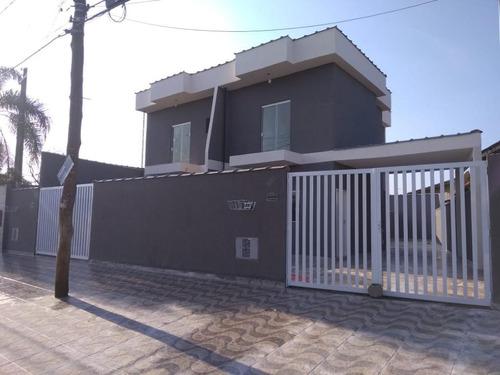 Sobrado Com 2 Dormitórios À Venda, 85 M² Por R$ 205.000 - Flórida Mirim - Mongaguá/sp - So0094