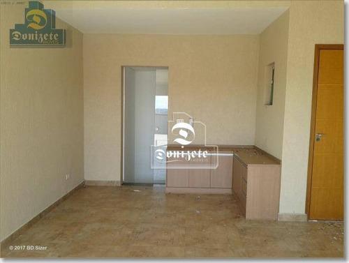 Cobertura Com 2 Dormitórios À Venda, 124 M² Por R$ 510.000,00 - Paraíso - Santo André/sp - Co0175
