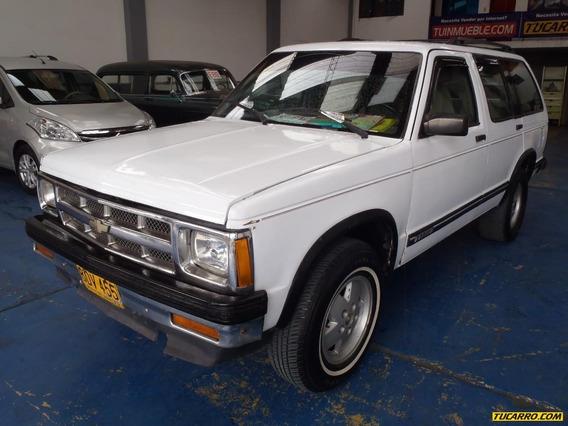 Chevrolet Blazer F.e