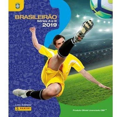 Álbum Campeonato Brasileiro 2019 + 90 Figurinhas Sem Repeti