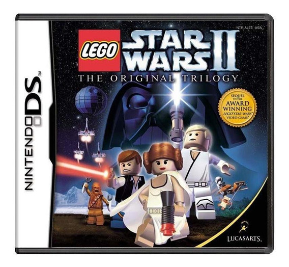 Lego Star Wars Ii The Original Trilogy Ds Mídia Física