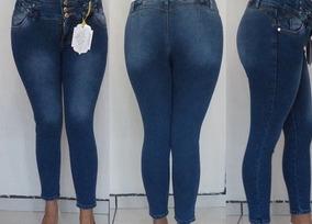 Pantalón Dkda Premium Dama Mezclilla Super Stretch