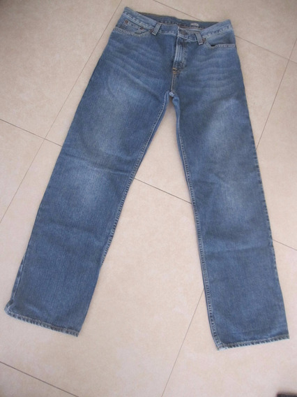 Jean Azul Polo Talle 30 (m) Buen Estado Recto (18 Años)