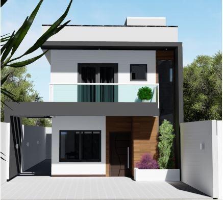 Imagem 1 de 3 de Casa Para Venda Em Cajamar, Portais (polvilho), 3 Dormitórios, 1 Suíte, 3 Banheiros, 2 Vagas - Ca-0059_1-1794140