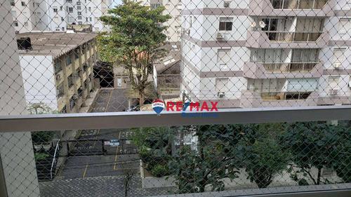 Imagem 1 de 22 de Apartamento Com 3 Dormitórios À Venda, 100 M² Por R$ 430.000,00 - Centro - Guarujá/sp - Ap3515