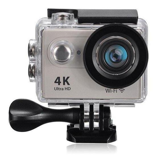 Camera Eken 4k H9r Wifi Estilo Go Pro + Bateria Extra
