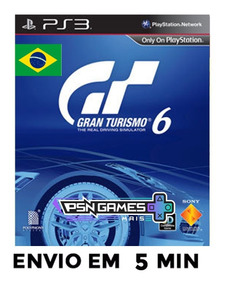 Gran Turismo 6 Ps3 Psn Português Envio Agora