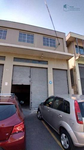Imagem 1 de 18 de Galpão Para Alugar, 300 M² Por R$ 13.000,00/mês - Vila Leopoldina - São Paulo/sp - Ga0077