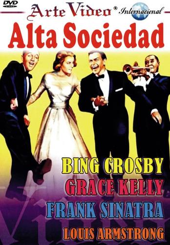 Alta Sociedad-bing Crosby-grace Kelly-f.sinatra-l. Armstrong