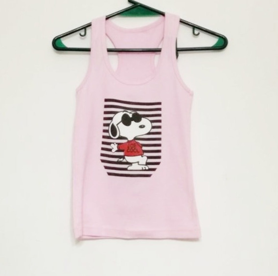 Musculosa Rosa Talle 10.