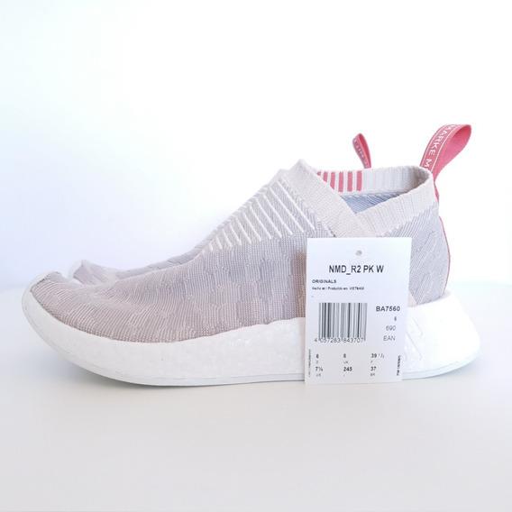Tênis adidas Nmd Cs2 Pk Primeknit W Linen Bege Original 37