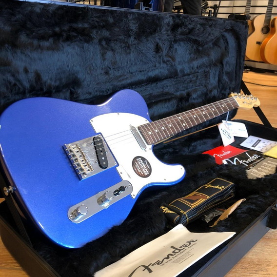 Guitarra Fender American Standard Telecaster Mystic Blue