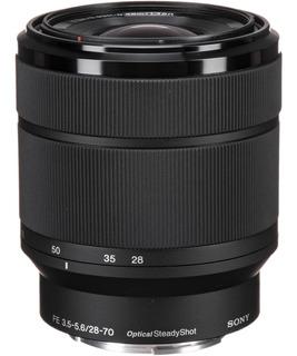 Lente Sony Sel2870 35 Mm Montura E Fe 28-70 Mm F3.5-5.6 Oss