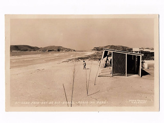 Cartao Postal Fotografico Cabo Frio - Rj - Praia Do Peró