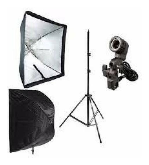 Acessorios Softbox Sombrinha 90x90 P/ Fotografia E Filmagem