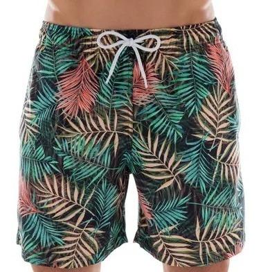 Shorts Beachwear Estampado Floral Color Mash Ref: 61325