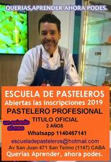 Curso De Pasteleros Profesional 2 Años. Titulo Oficial.