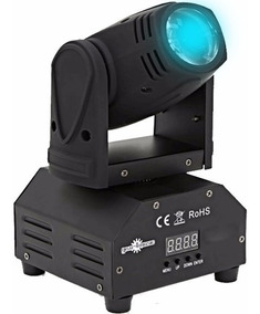 Mini Beam Moving Head Led 12w Cree Rgbw Dmx Strobo, Dj