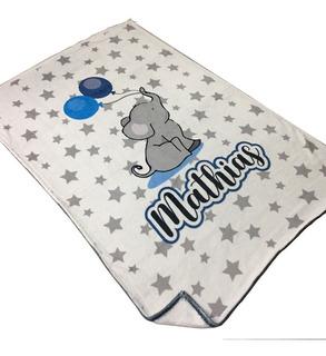 Regalo Para Bebe Baby Shower - Manta Personalizada