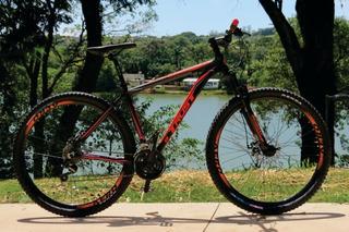 Bicicleta 29 Trust C/câmbio Shimano 21vel Disc + Brinde