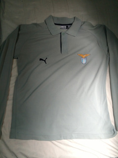 Camisa Lazio - Manga Longa - Puma (m)