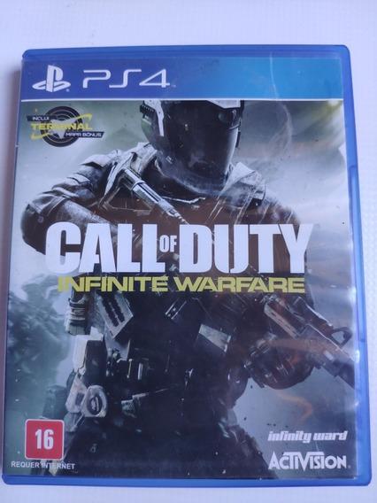 Call Of Duty Infinity Warfare Ps4 Midia Física Semi Novo