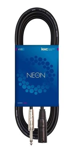 Imagen 1 de 6 de Cable Kwc 116 - Plug 6.5 Mn A Canon Macho 3 Mts