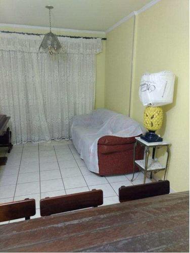 Imagem 1 de 17 de Apartamento Com 2 Dorms, Canto Do Forte, Praia Grande - R$ 390 Mil, Cod: 554 - V554