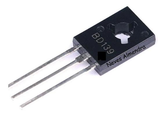 Transistores Bd 139 Com 5 Peças
