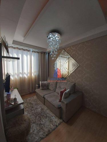 Imagem 1 de 30 de Cobertura Com 2 Dormitórios À Venda, 116 M² Por R$ 320.000,00 - Vila Belvedere - Americana/sp - Co0007
