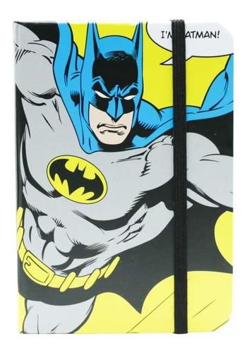Caderneta De Anotacao Dc A6 Eu Sou O Batman