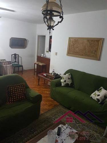 Imagem 1 de 8 de Apto. Com 1 Dormitório Para Venda Na Pompéia Em Santos - 1095