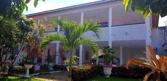 Excelente Casa Duplex Para Você Que Busca Abrir Sua Clinica, Igreja Ou Escola Em Messejana , Com 396 M² Por R$ 8.000/mês - Messejana - Fortaleza/ce - Ca3015