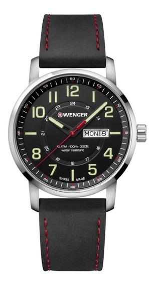 Relógio Masculino Suíço Wenger Linha Atitude 42mm 01.1541101