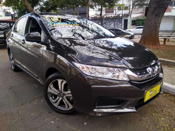 Honda City Lx Aut. 1.5 Flex 2017 Marrom Completo 15.700km!!