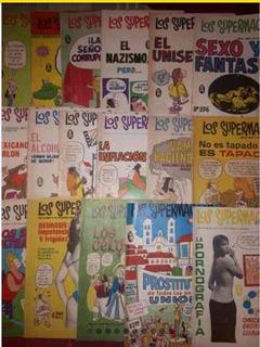 125 Ejemplares De Los Supermachos A Mil Pesos Todos 70s